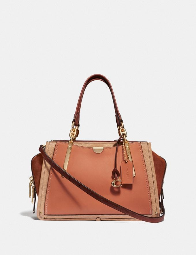 Coach Dreamer in Colorblock Sunrise Multi/Gold VIP SALE Women's Sale Bags