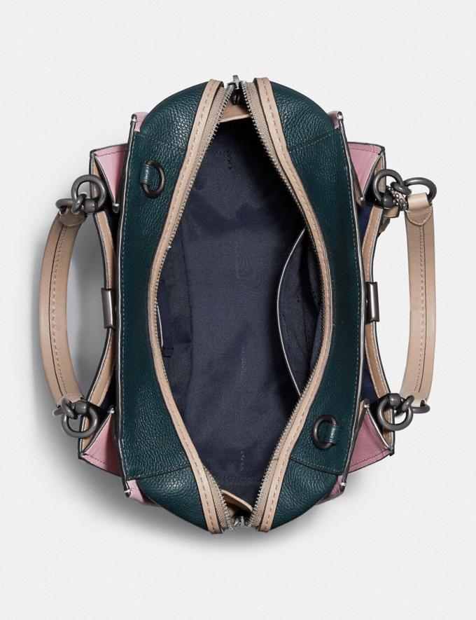 Coach Dreamer in Colorblock Pewter/Pne Grn Aurora Multi SALE Women's Sale Bags Alternate View 2