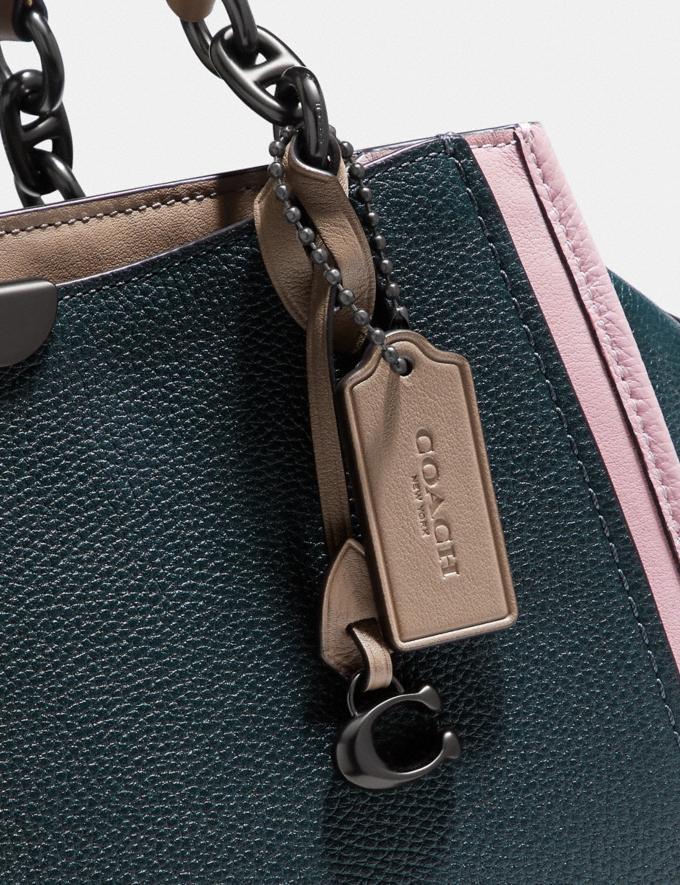 Coach Dreamer in Colorblock Pewter/Pne Grn Aurora Multi SALE Women's Sale Bags Alternate View 4
