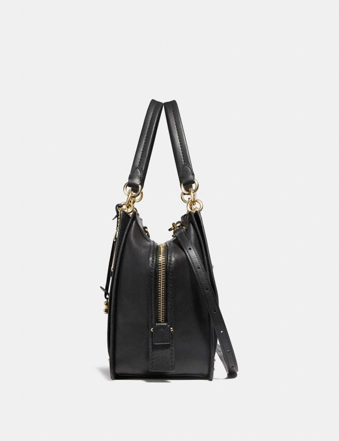 Coach Dreamer 36 Black/Light Gold Personalise Personalise It Monogram For Her Alternate View 1