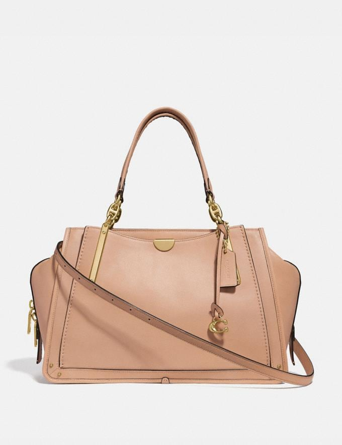 Coach Dreamer 36 Beechwood/Light Gold Customization Personalize It Monogram for Her