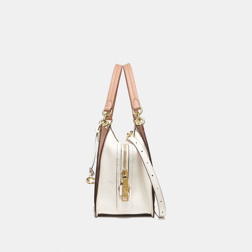 Coach Dreamer 36 in Colorblock With Genuine Snakeskin Detail Alternate View 1