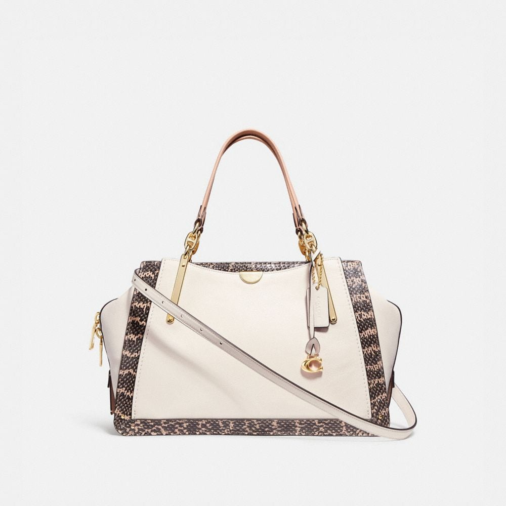 Coach Dreamer 36 in Colorblock With Genuine Snakeskin Detail