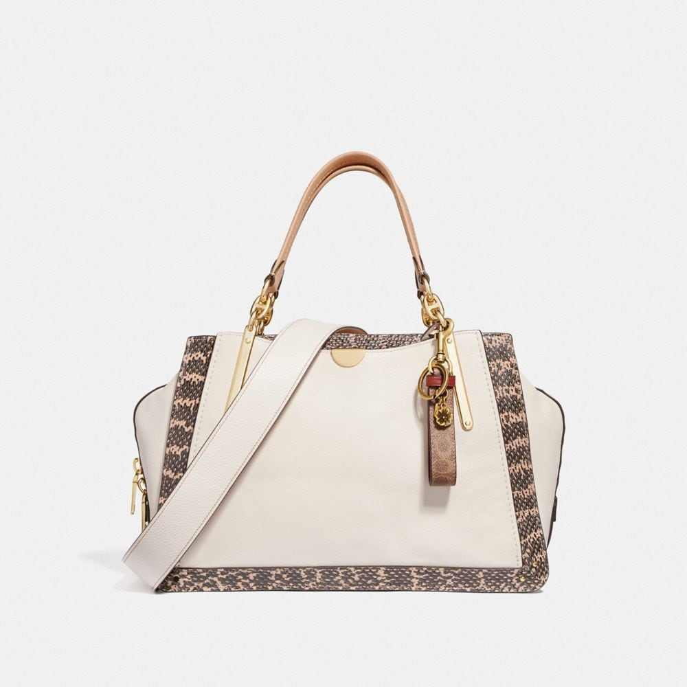 Coach Dreamer 36 in Colorblock With Genuine Snakeskin Detail Alternate View 3