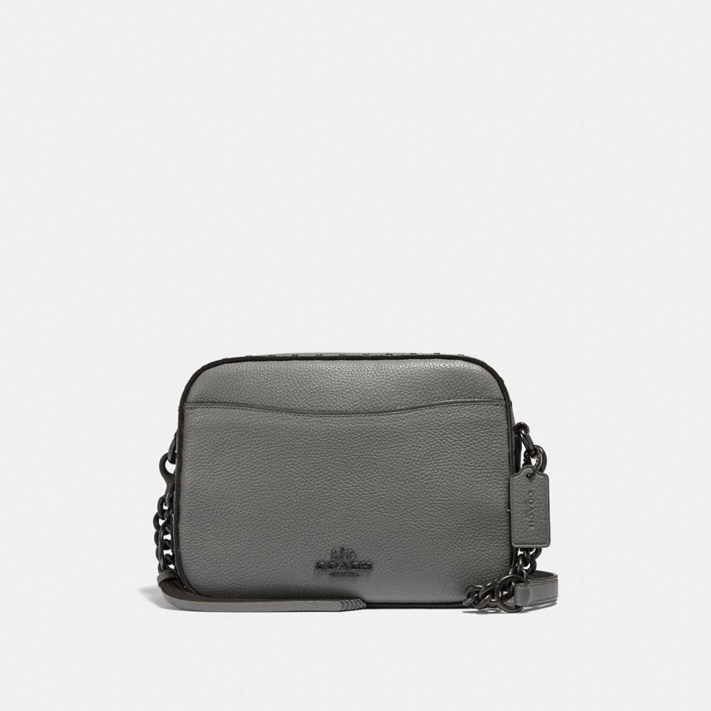 Coach Camera Bag With Rivets