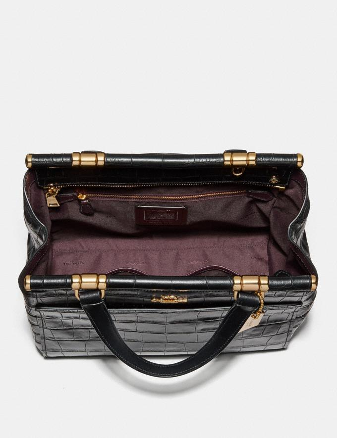 Coach Grace Bag Black/Light Gold New Featured Online-Only Alternate View 2
