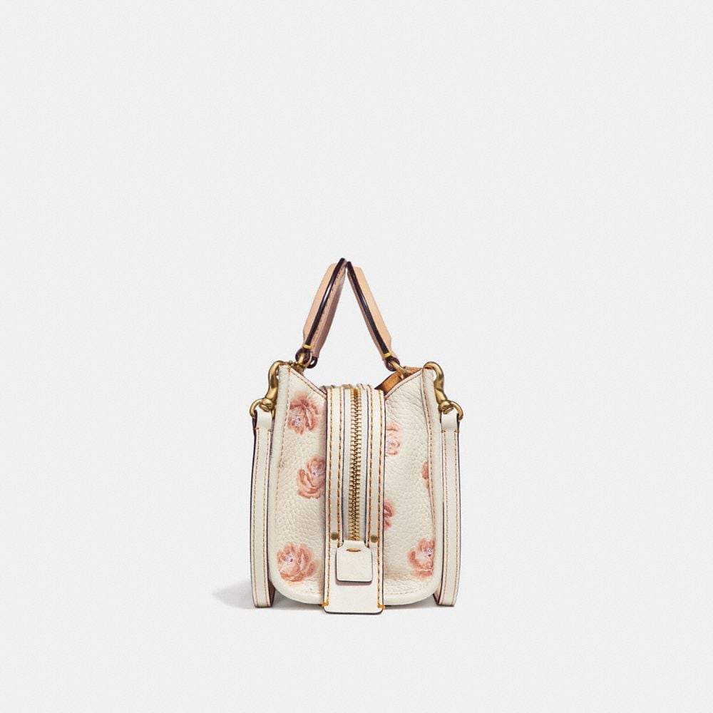 Coach Rogue 17 With Glitter Rose Print Alternate View 1