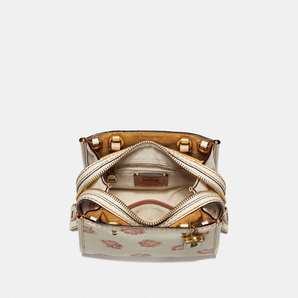 Coach Rogue 17 With Glitter Rose Print Alternate View 2