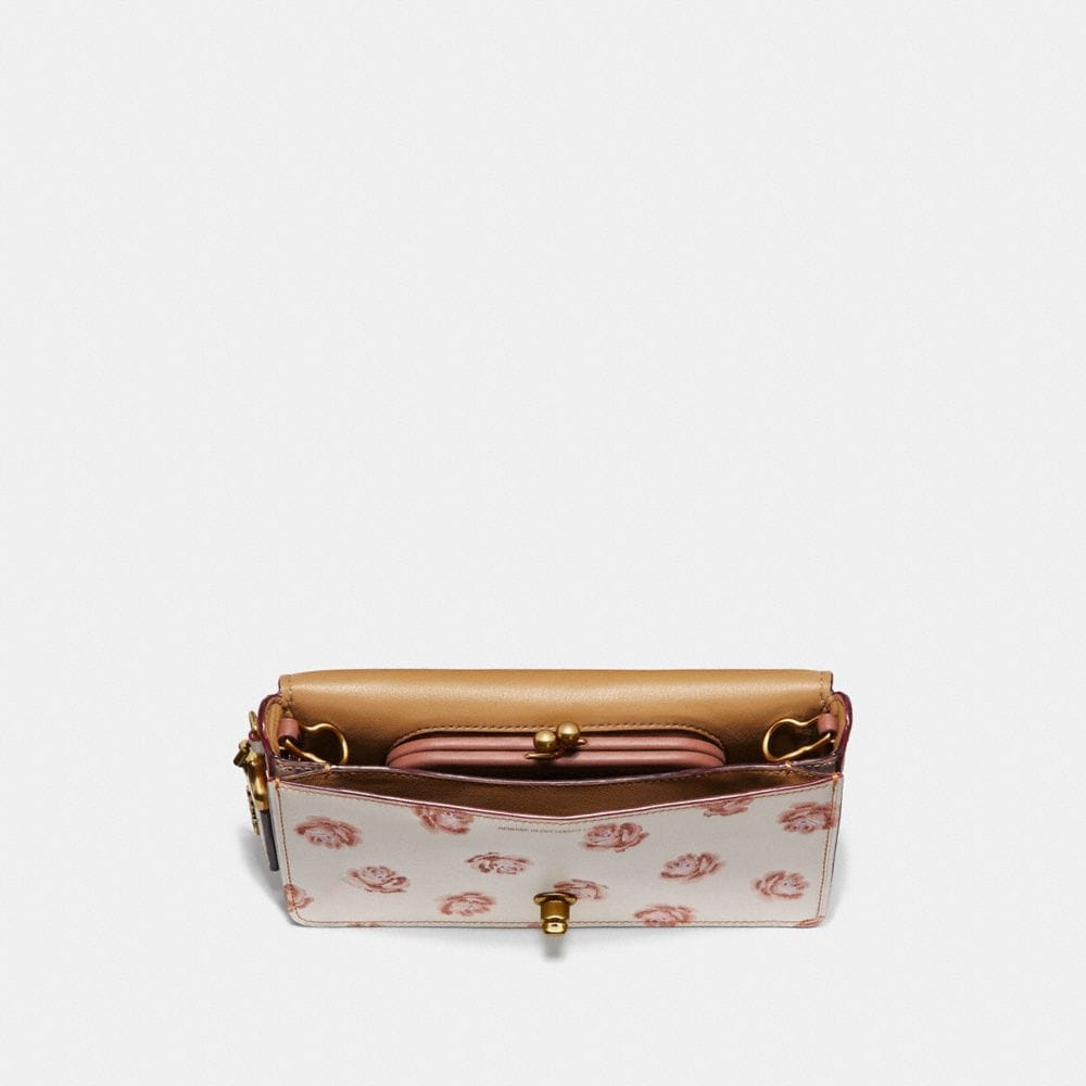 Coach Dinky With Glitter Rose Print Alternate View 2