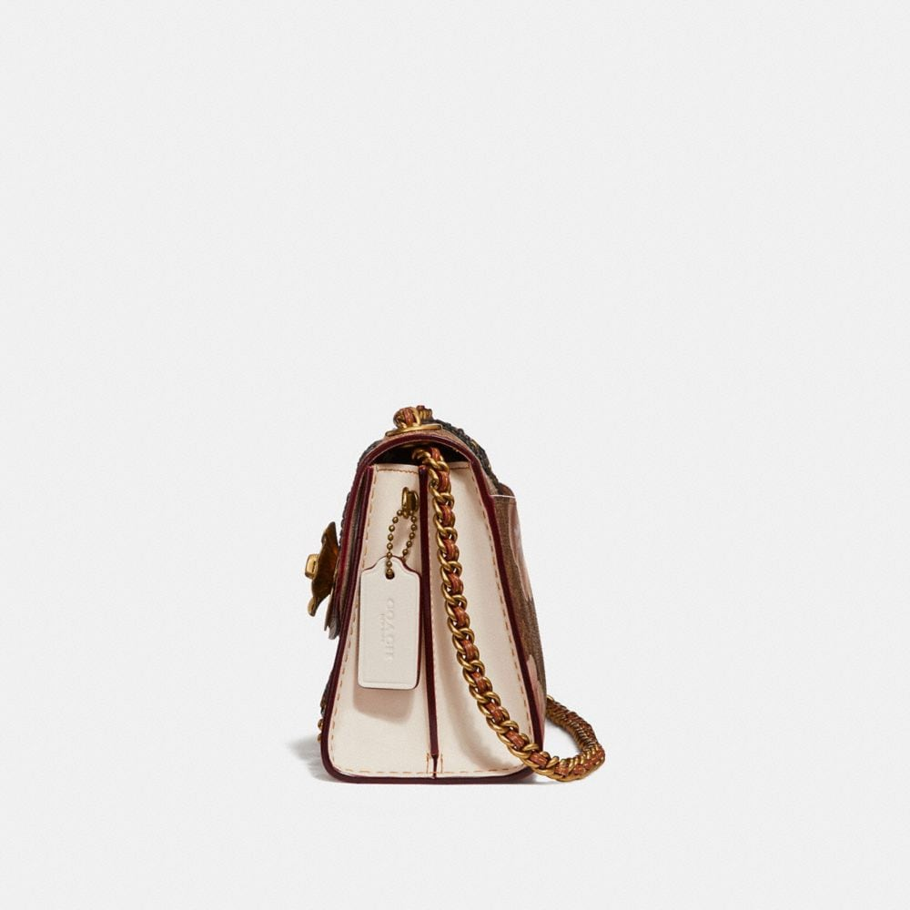 Coach Parker 18 in Embellished Signature Rose Print Alternate View 1