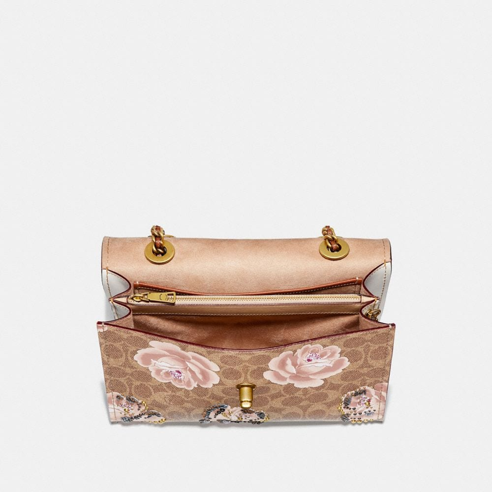 Coach Parker in Embellished Signature Rose Print Alternate View 2