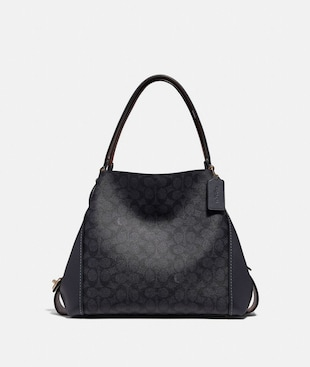 EDIE SHOULDER BAG 31 IN SIGNATURE CANVAS