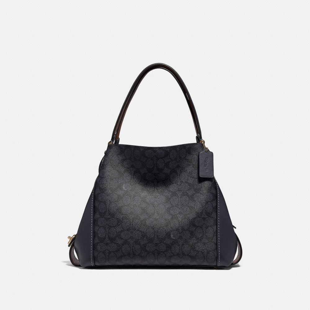 Coach Edie Shoulder Bag 31 in Signature Canvas