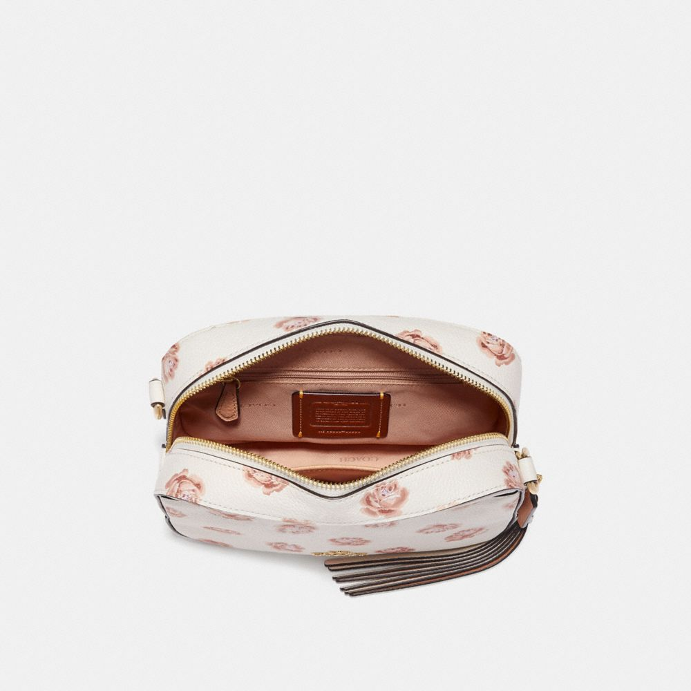 Coach Camera Bag With Rose Print Alternate View 2