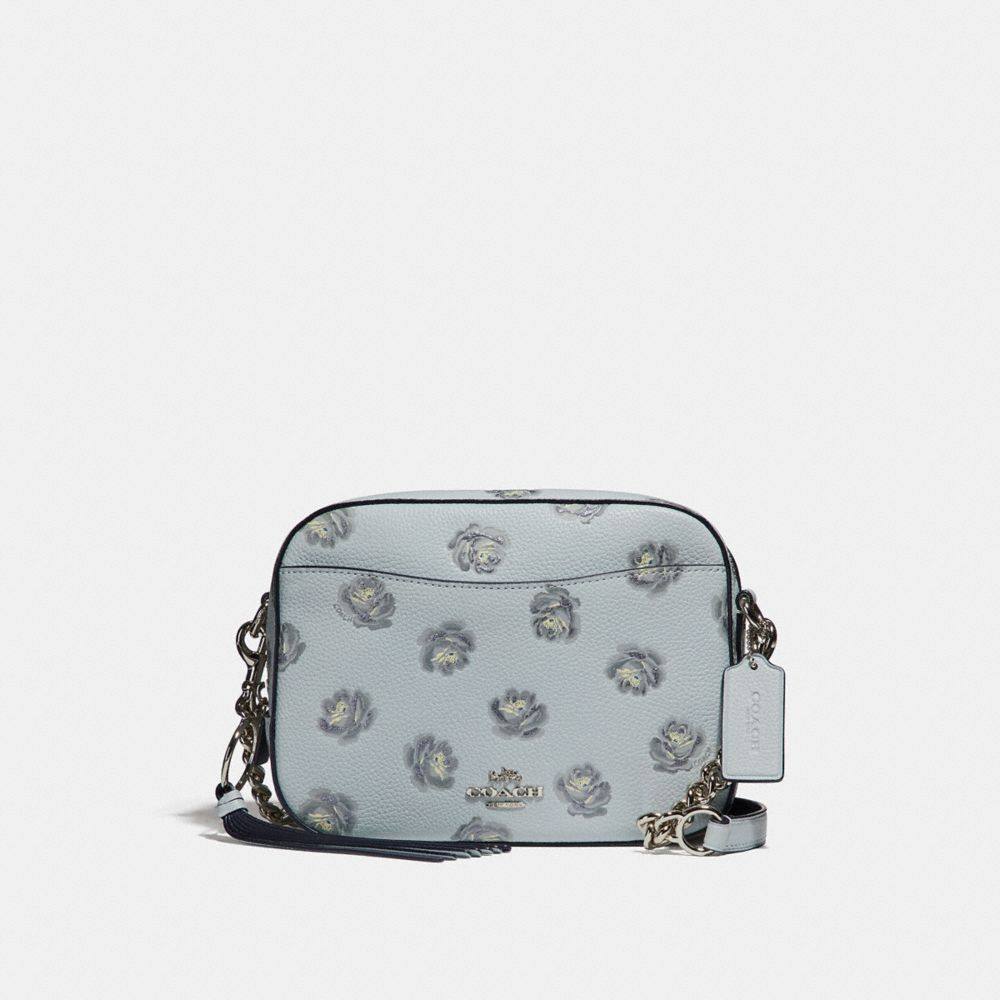 Coach Camera Bag With Rose Print