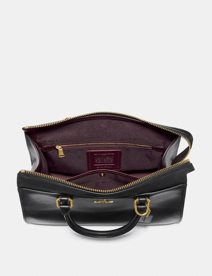 Coach Bond Bag Black/Gold New Featured Online-Only Alternate View 2