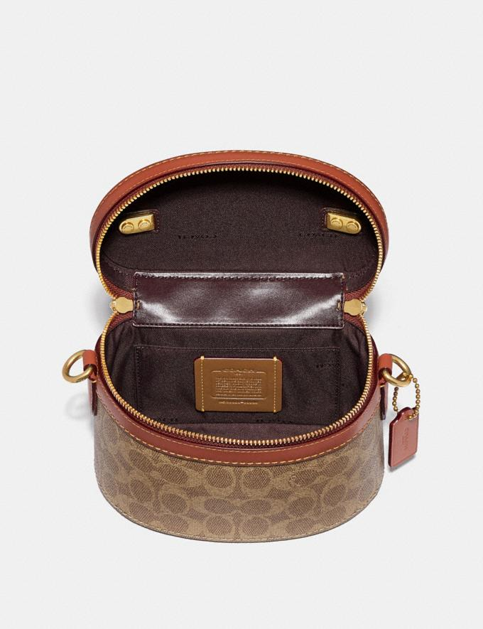 Coach Trail Bag in Signature Canvas Rust/Brass New Featured Signature Styles Alternate View 2