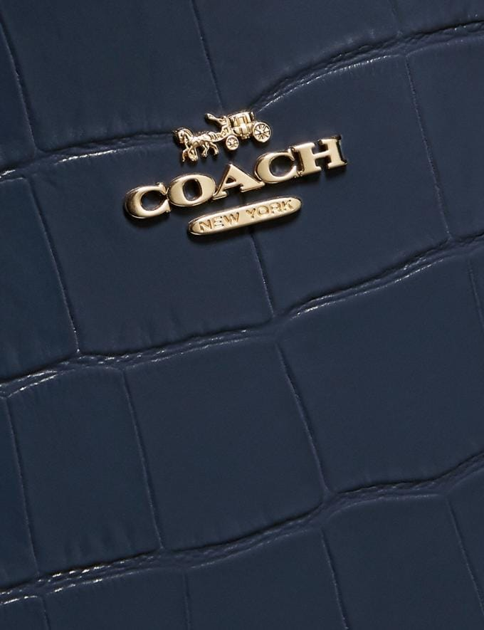 Coach Charlie Carryall Gold/Ink Event Alternate View 5