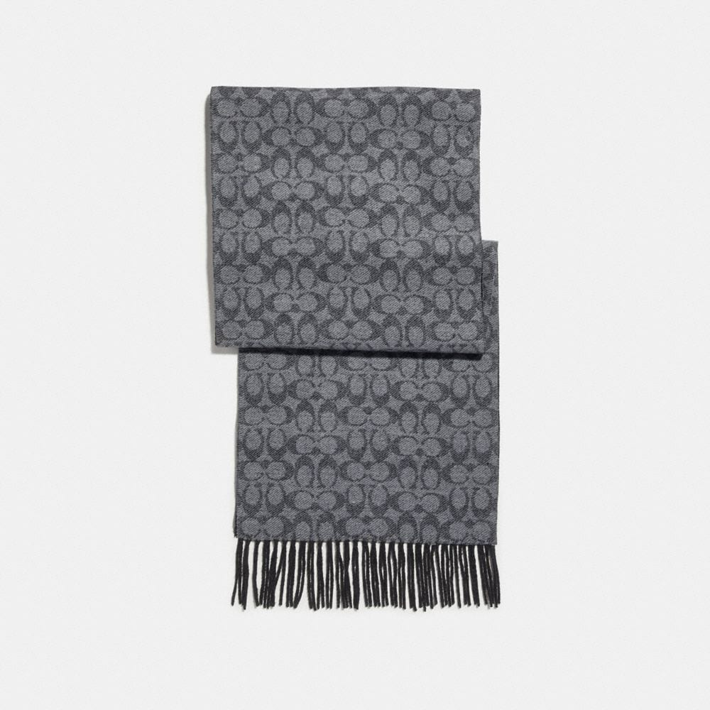 Coach Signature Double Face Scarf