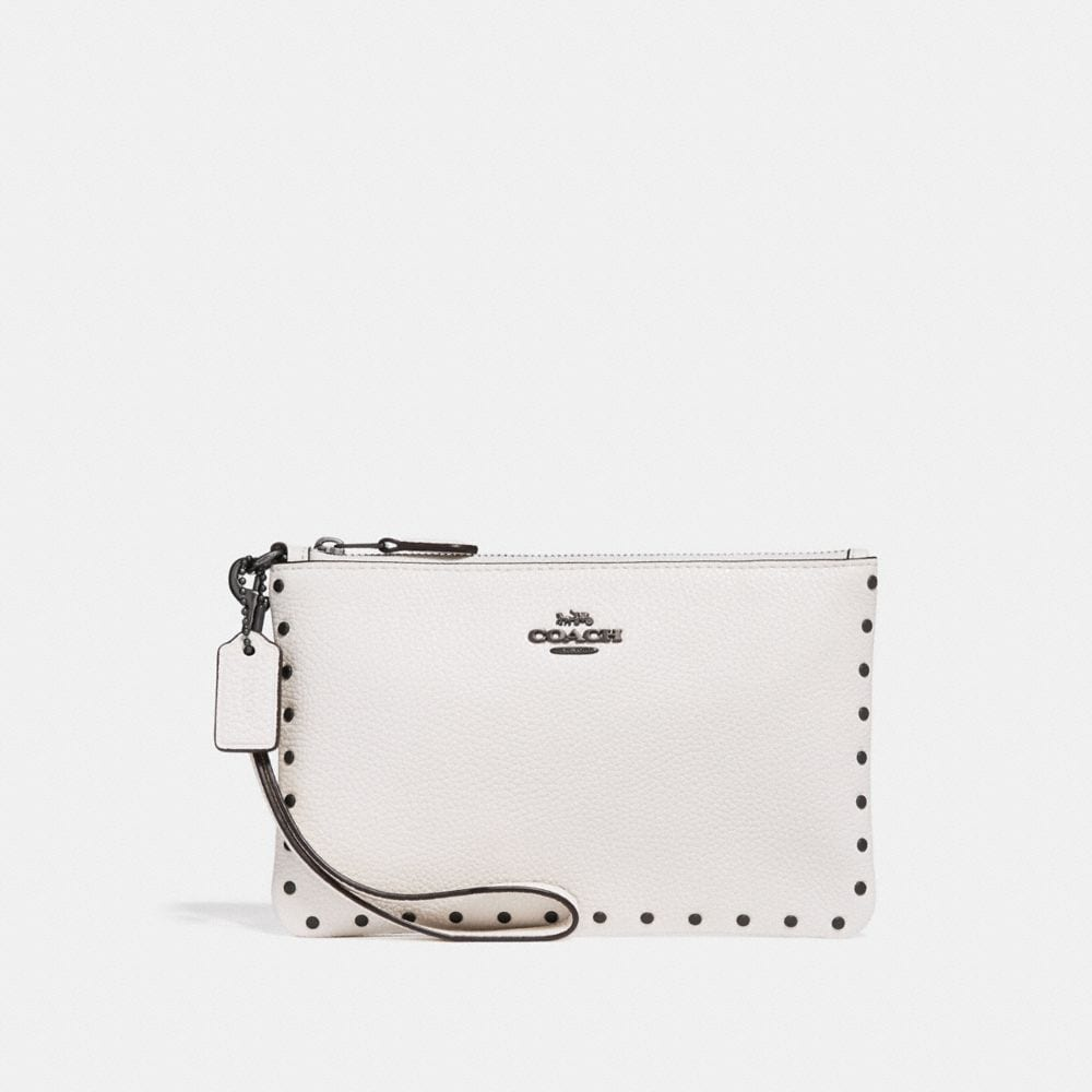 SMALL WRISTLET WITH BORDER RIVETS