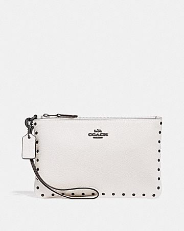 SMALL WRISTLET WITH RIVETS
