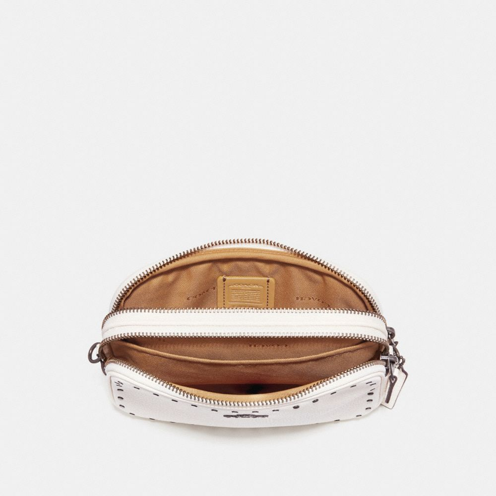 Coach Sadie Crossbody Clutch With Rivets Alternate View 2