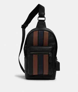 WEST PACK WITH VARSITY STRIPE
