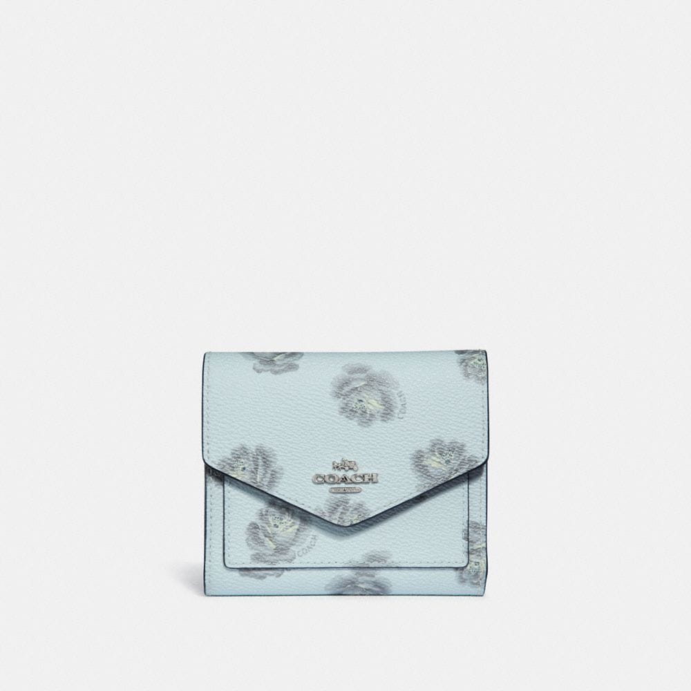 Coach Small Wallet With Rose Print
