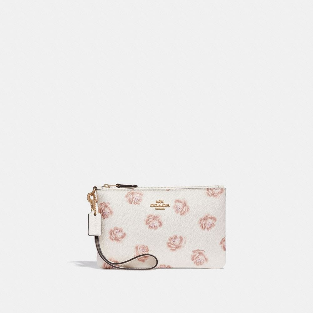 SMALL WRISTLET WITH ROSE PRINT