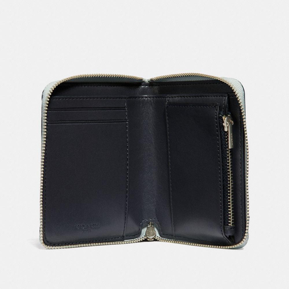 Coach Small Zip Around Wallet Alternate View 1