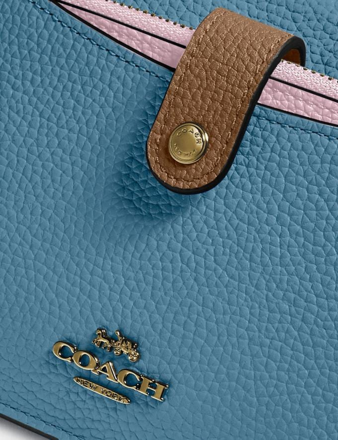 Coach Noa Pop-Up Messenger in Colorblock Brass/Pacific Blue Multi Gifts For Her Under $300 Alternate View 3