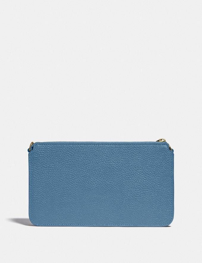 Coach Noa Pop-Up Messenger in Colorblock Brass/Lake Multi Gifts For Her Under $300 Alternate View 1