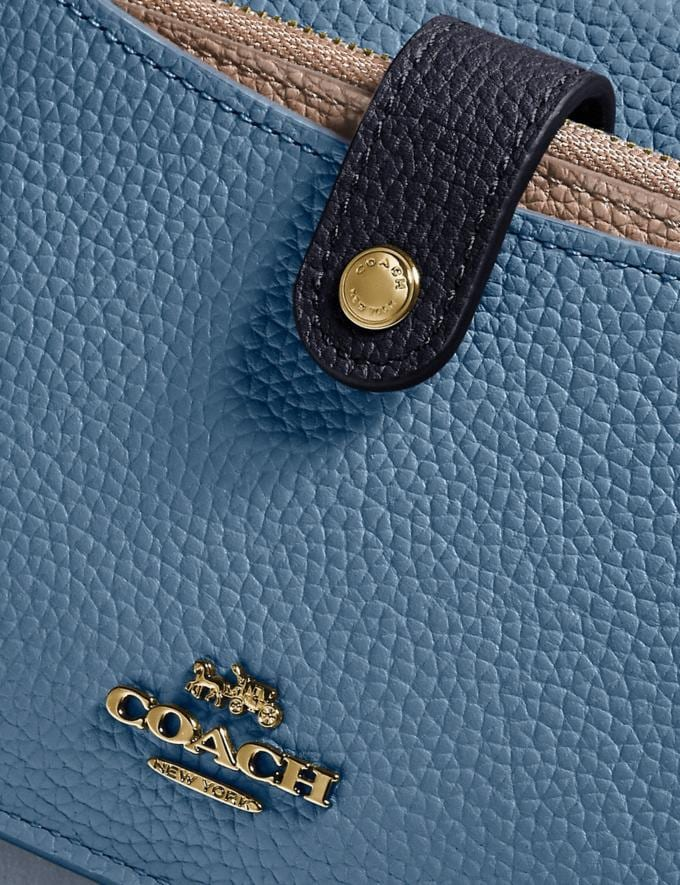 Coach Noa Pop-Up Messenger in Colorblock Brass/Lake Multi Gifts For Her Under $300 Alternate View 4
