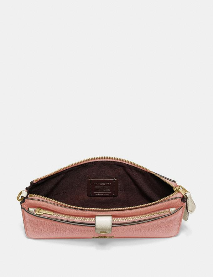 Coach Noa Pop-Up Messenger in Colorblock Light Peach Multi/Gold Gifts For Her Alternate View 1