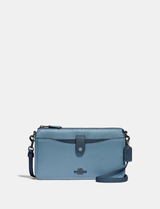 Coach Noa Pop-Up Messenger in Colorblock Slate Multi/Gunmetal Gifts For Her