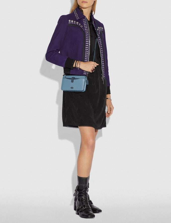 Coach Noa Pop-Up Messenger in Colorblock Slate Multi/Gunmetal Gifts For Her Alternate View 2