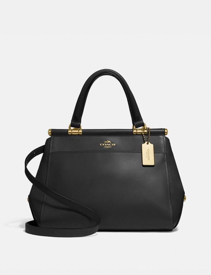 Coach Grace Bag Light Gold/Black CYBER MONDAY SALE Women's Sale Bags