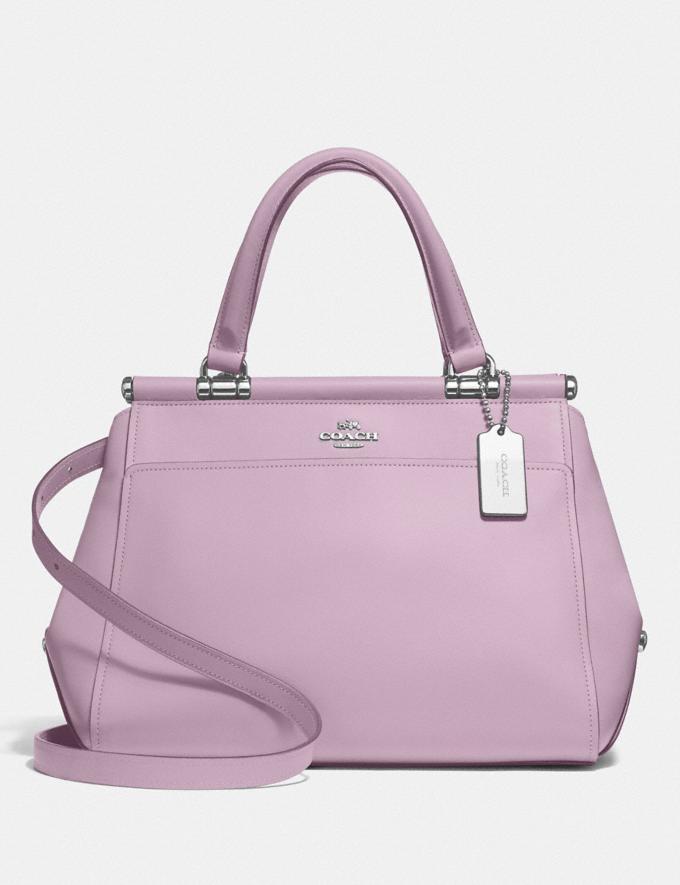Coach Grace Bag Jasmine/Silver Women Bags Satchels & Carryalls