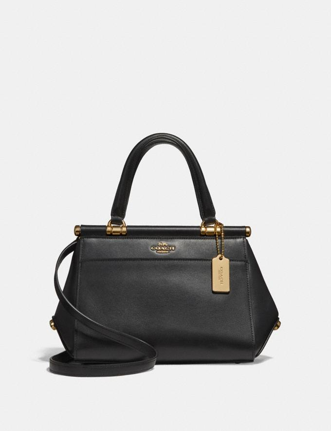 Coach Grace Bag 20 Black/2/Light Gold Gifts For Her Luxe Gifts
