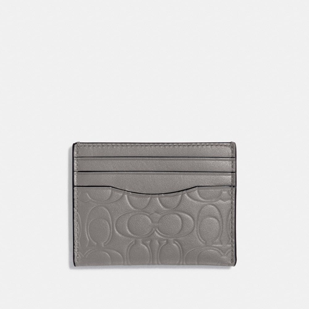 CARD CASE IN SIGNATURE LEATHER