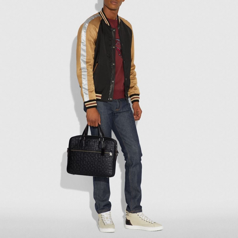 Coach Hudson 5 Bag in Signature Leather Alternate View 5