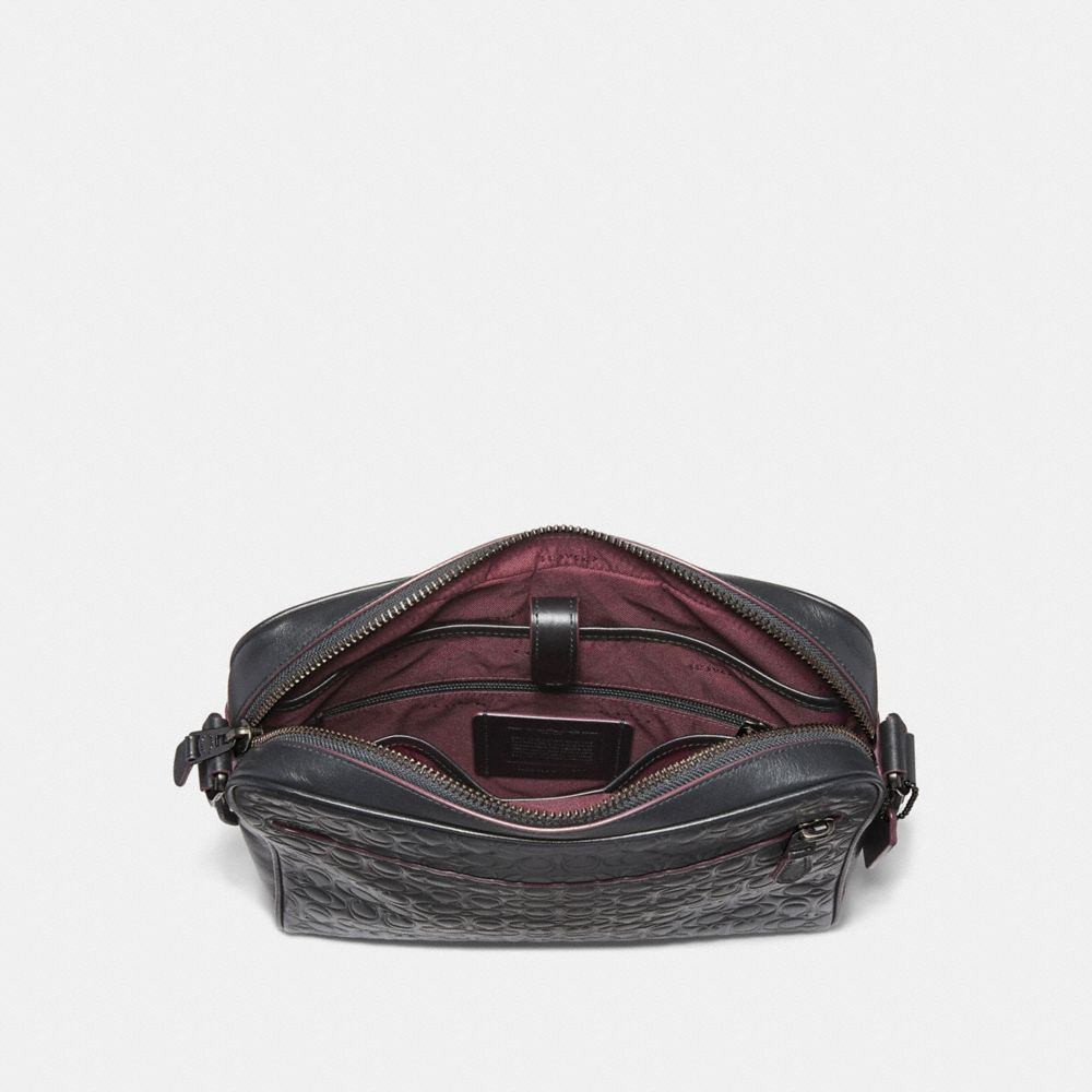 Coach Metropolitan Camera Bag in Signature Leather Alternate View 2