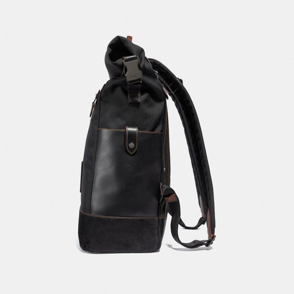 Coach Academy Travel Backpack in Cordura® Fabric Alternate View 1