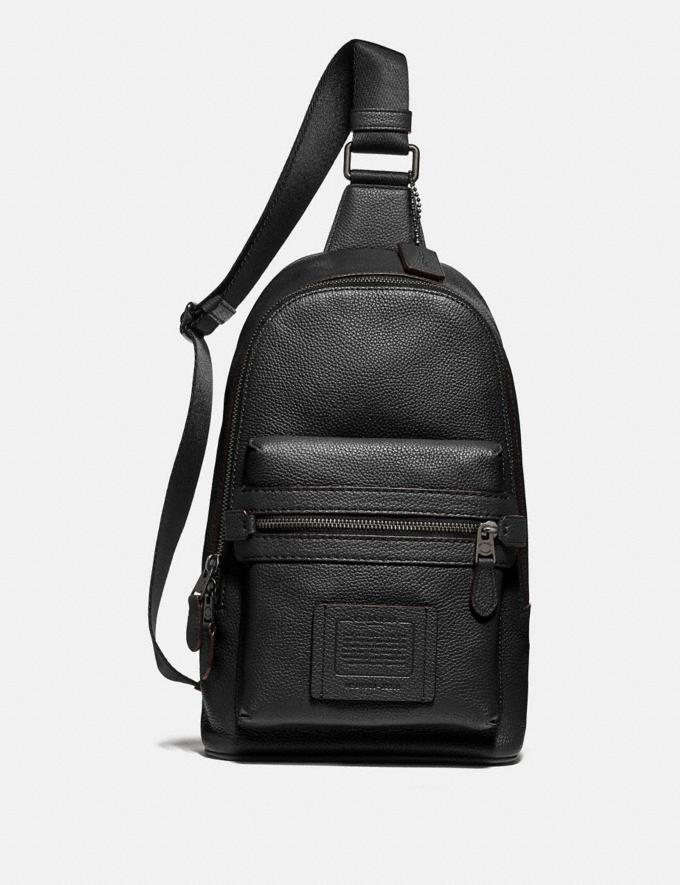 Coach Academy Pack Black/Black Copper Finish Men