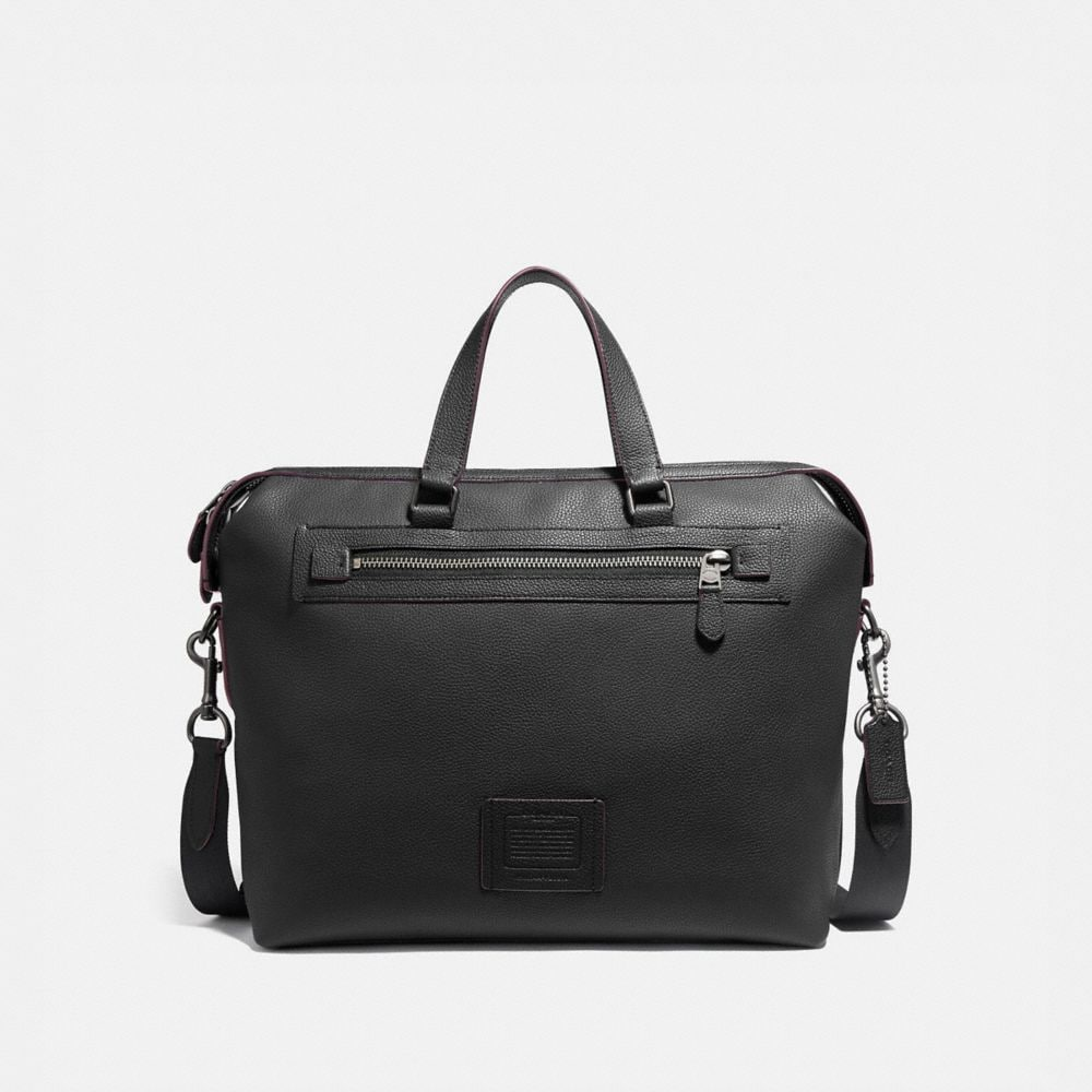 Coach Academy Holdall in Polished Pebble Leather