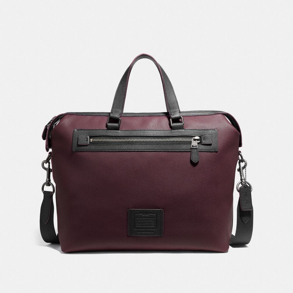 ACADEMY HOLDALL IN POLISHED PEBBLE LEATHER