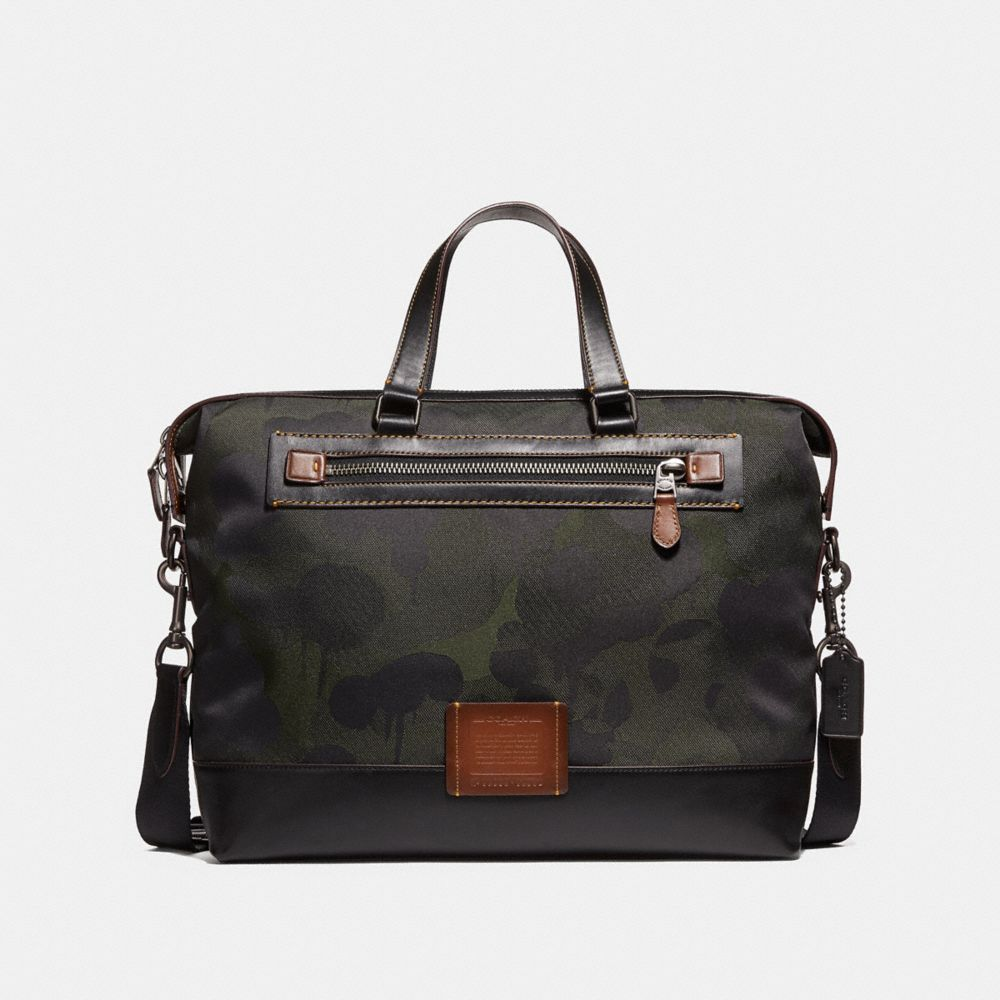Coach Academy Holdall in Cordura® Fabric With Wild Beast Print