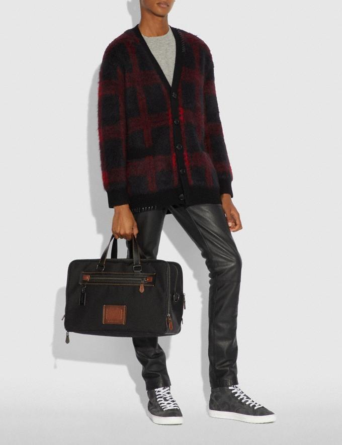 Coach Academy Day Bag Black/Black Copper Finish SALE Men's Sale Alternate View 4