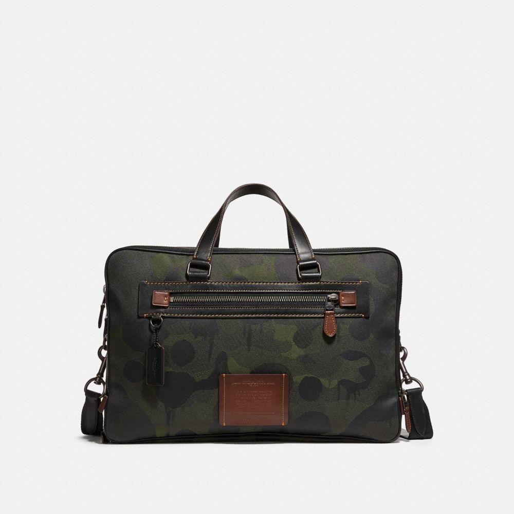 Coach Academy Day Bag in Cordura® Fabric With Wild Beast Print
