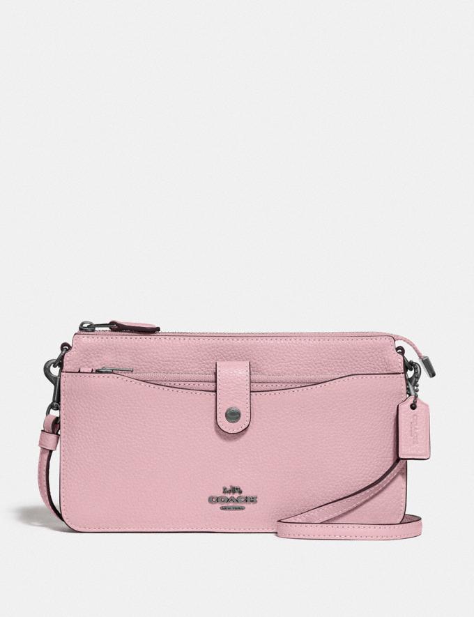 Coach Noa Pop-Up Messenger Pewter/Aurora Women Handbags Crossbody Bags